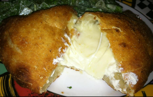 Fried Calzone.. Yes.. a FRIED Calzone
