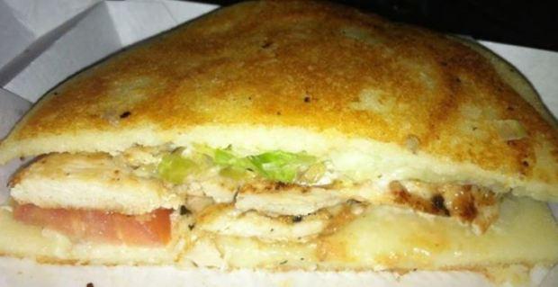 Arepa Sandwich