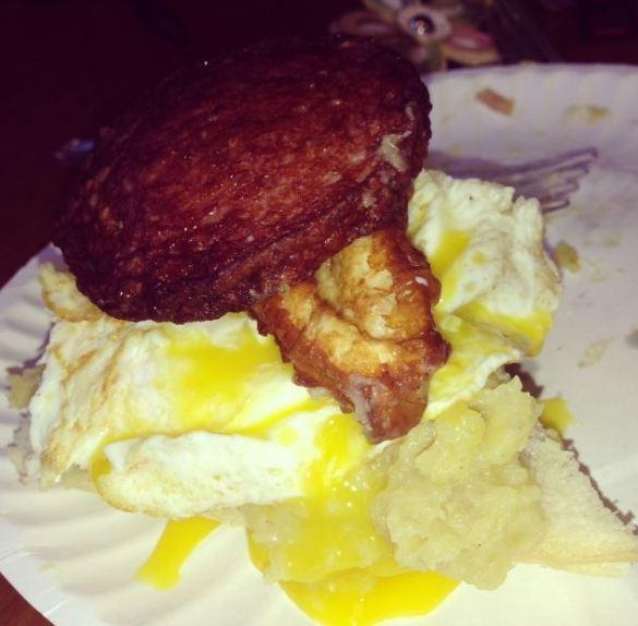 Mangu Sandwich